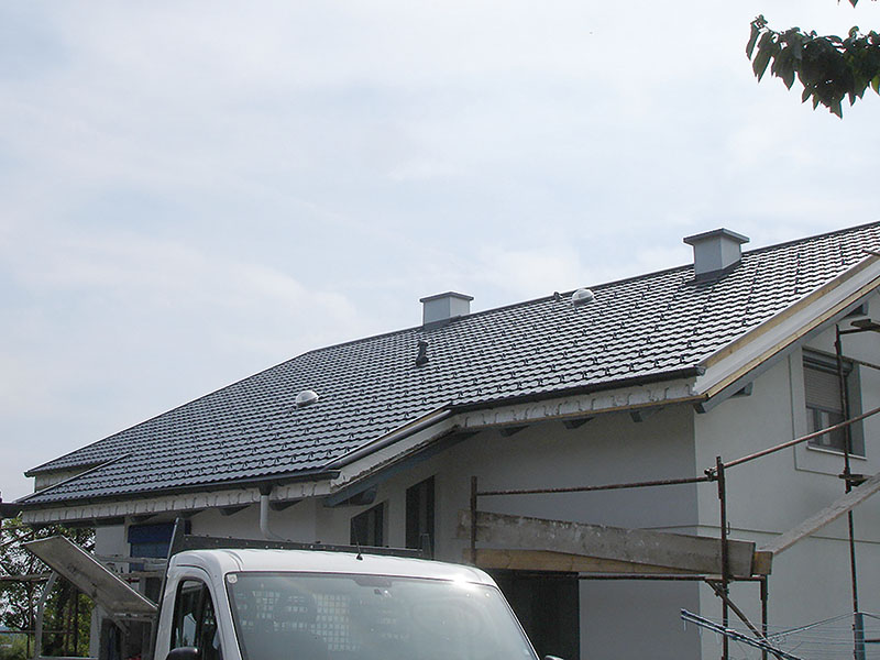 fertig saniertes Dach