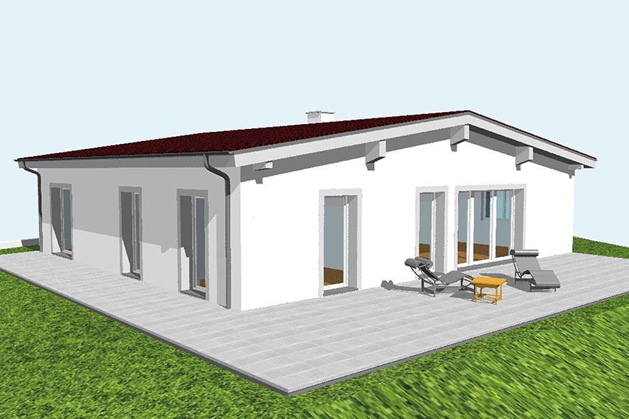 bungalow als passiv haus oc block. Black Bedroom Furniture Sets. Home Design Ideas