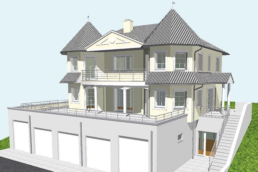 Schloss als PASSIV Haus – OC BLOCK®
