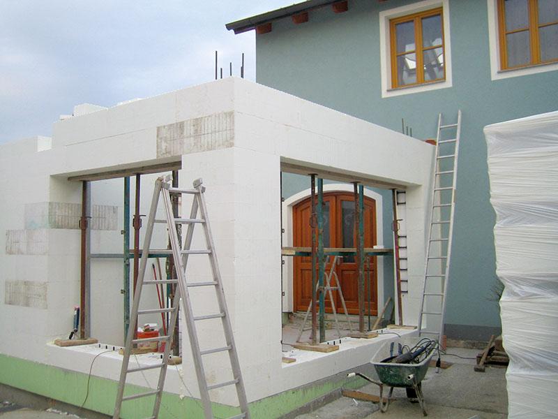 Zubau mit dem OC Block Bausystem