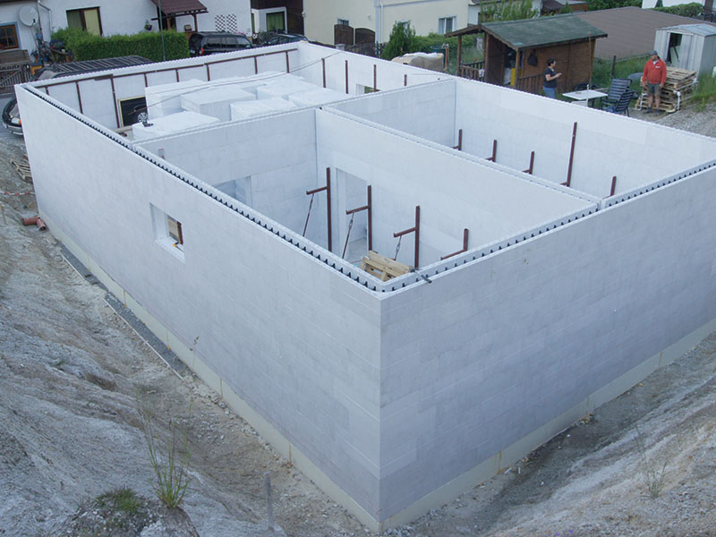 Keller mit dem OC Block Bausystem