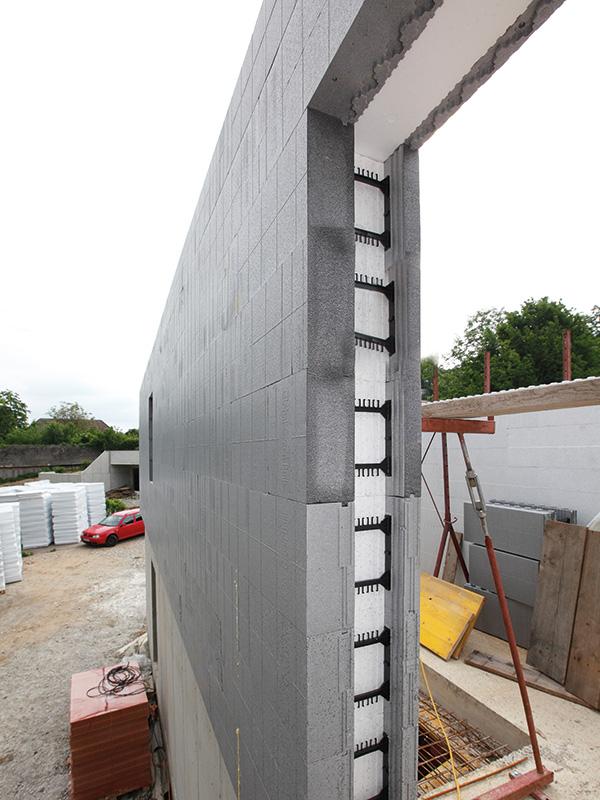 Sturzeinschub für Fenster- und Türaussparungen (Parapet & Sturz)