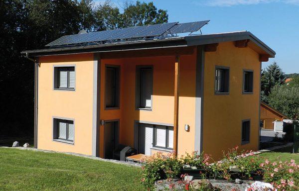 Einfamilienhaus als NULL Energiehaus