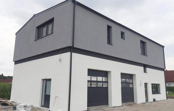 KFZ Werkstatt und Wohnbereich als PASSIV Haus